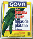 Banana Leaves - Hoja de Platano