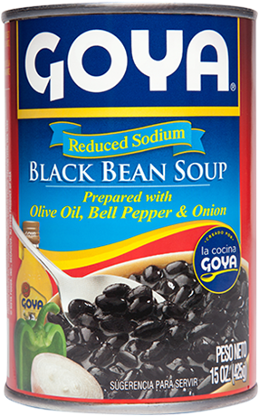 Reduced Sodium Black Bean Soup
