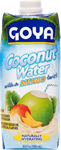 Coconut Water with a Mango Twist