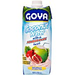 Coconut Water with a Pomegranate Twist