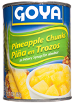 Pineapple Chunks in Heavy Syrup