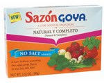 Sazón Natural and Complete