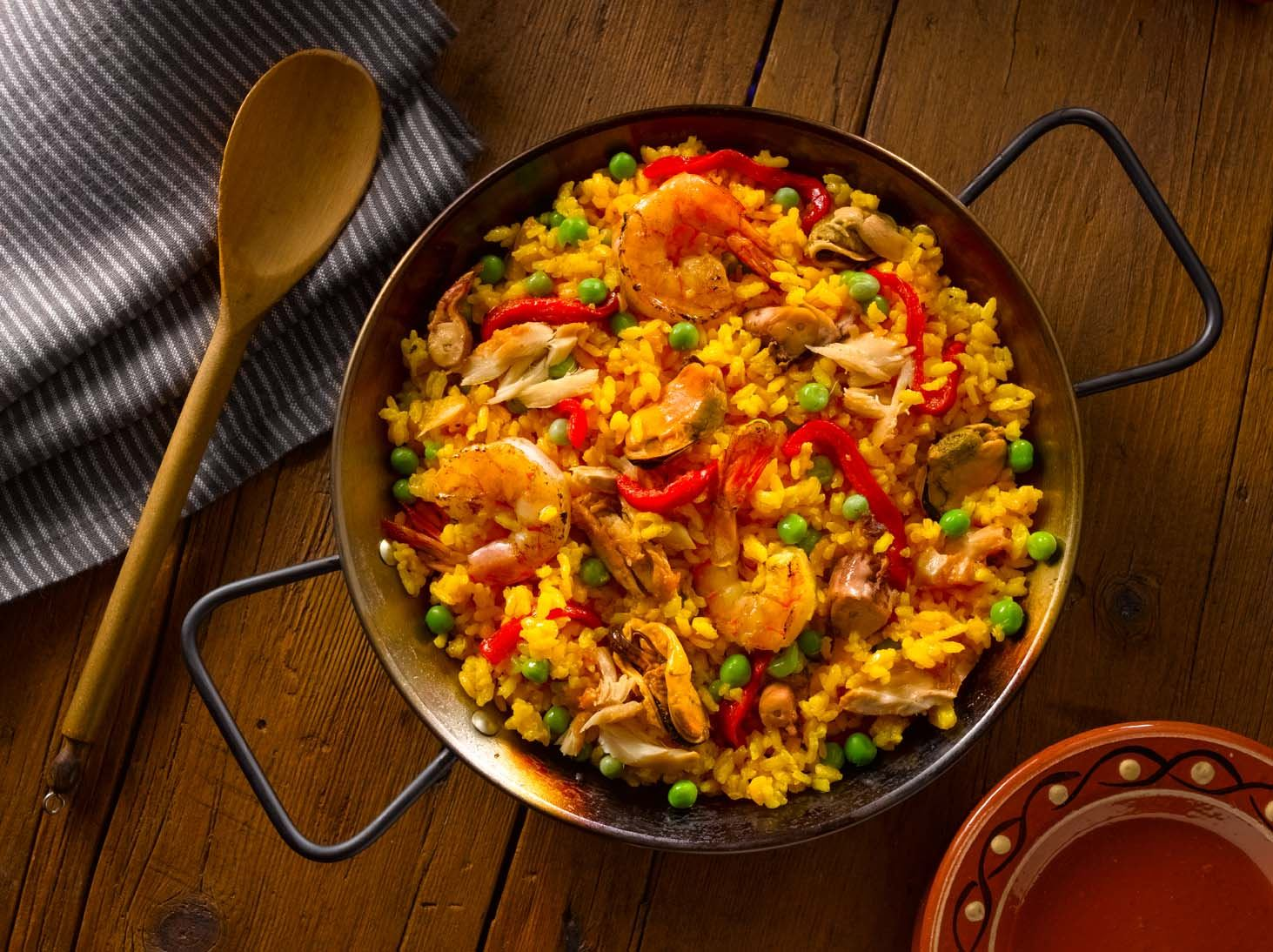 Paella Marinera - Rice with Seafood