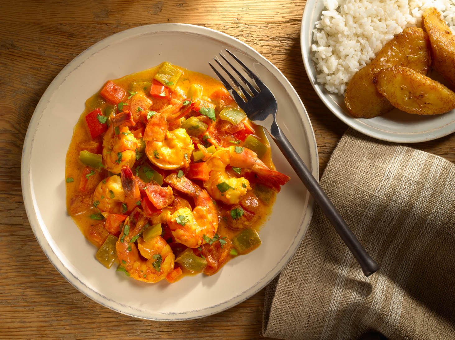 Ecuadorian Shrimp with Coconut Sauce