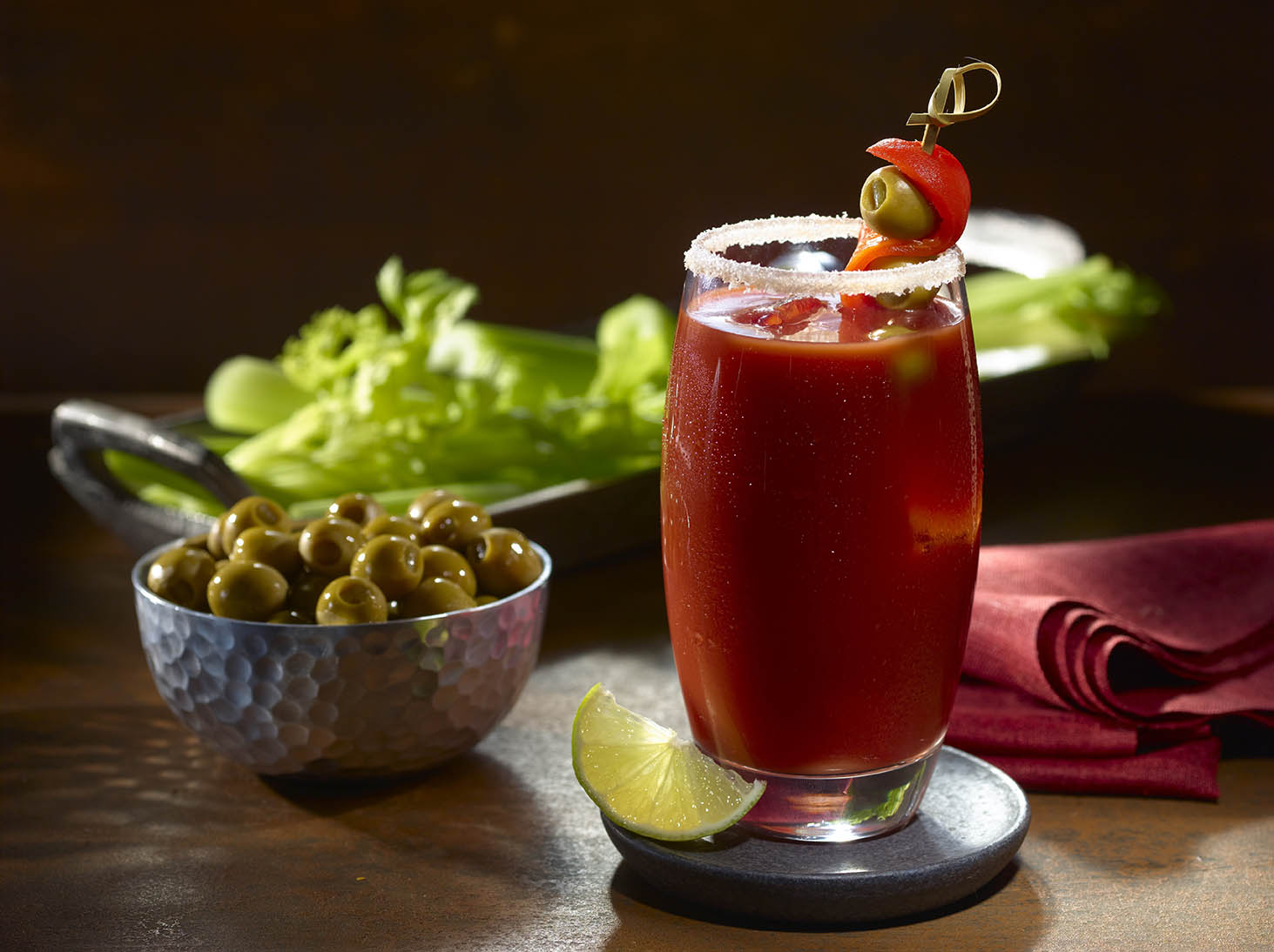 Goya foods authentic latino food recipes for Coctel bloody mary