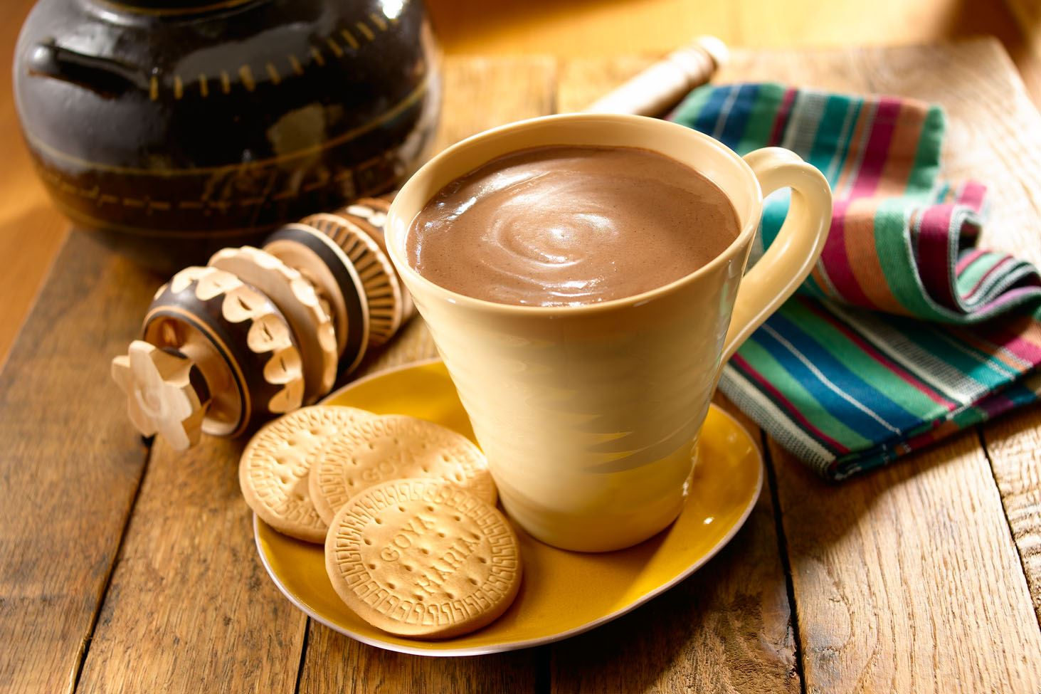 Champurrado -Thick Mexican Hot Chocolate
