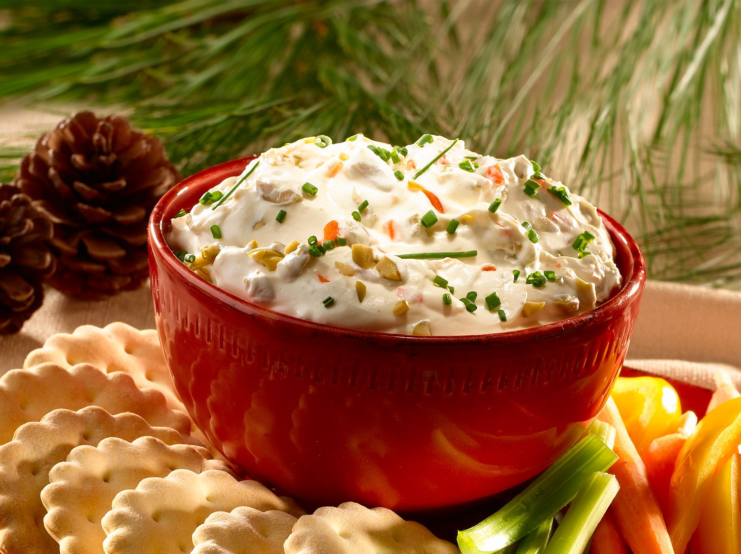 Creamy Olive Dip with Spanish Olives