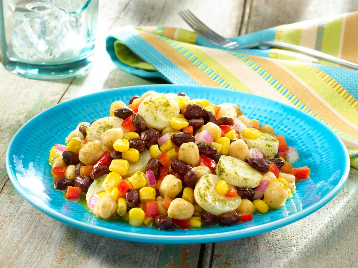 MyPlate Fresh Mexican Bean Salad