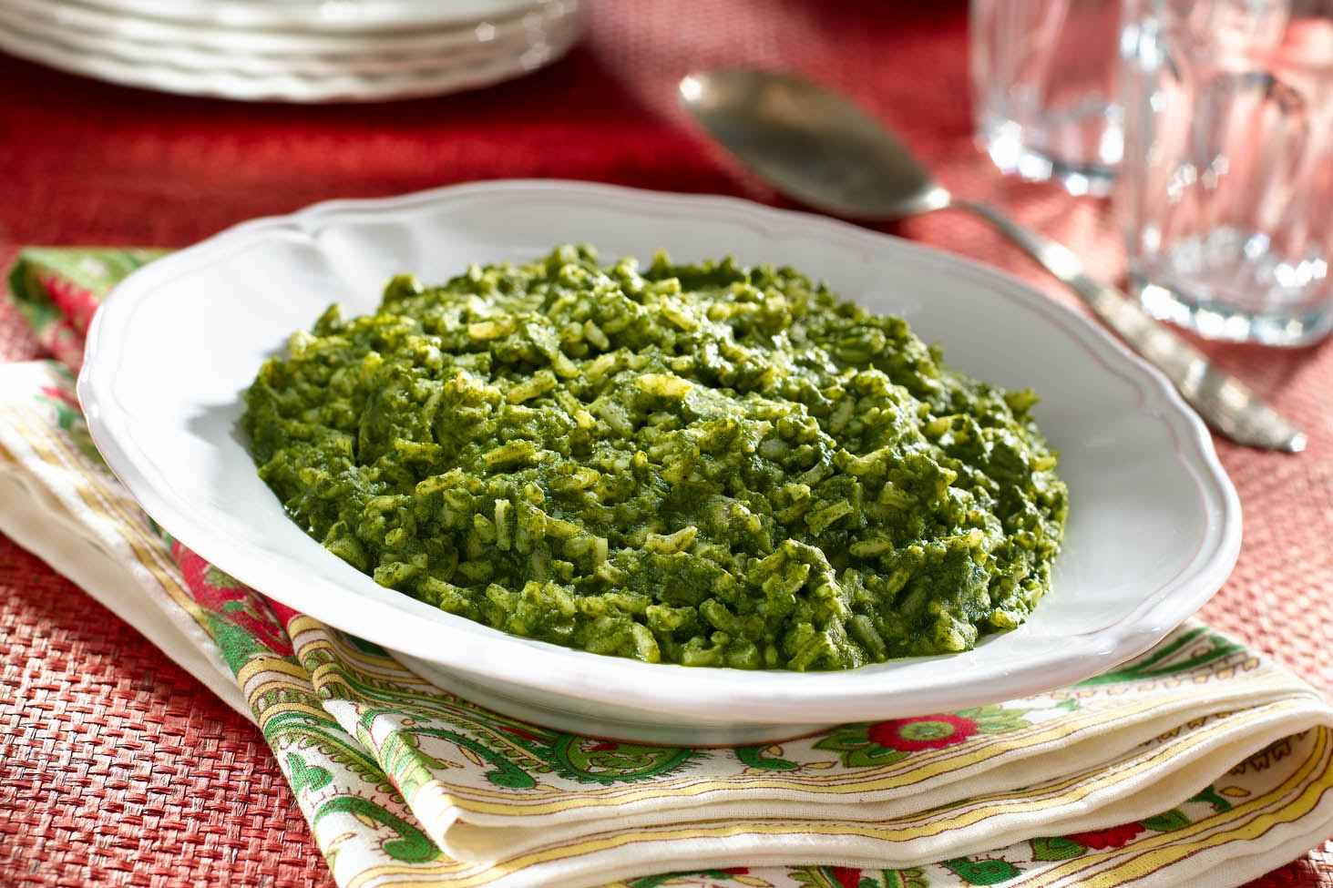 MyPlate Garlic and Spinach Rice