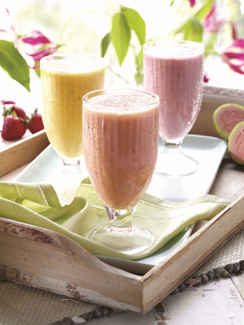 MyPlate Light Fruit Smoothie