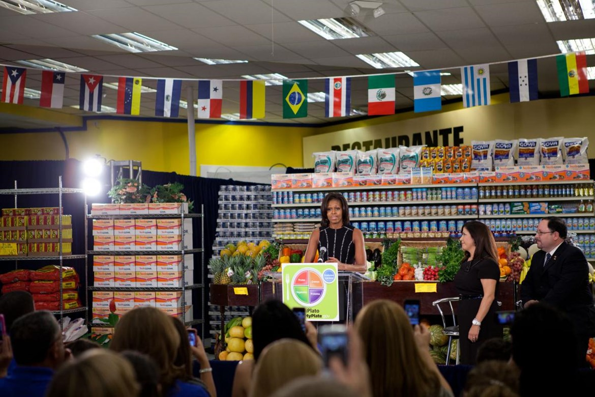 GOYA FOODS CONTINUES TO SUPPORT FIRST LADY MICHELLE OBAMA'S MYPLATE CAMPAIGN & ENCOURAGES HEALTHY EATING AT THE PIX11 HEALTH & WELLNESS EXPO