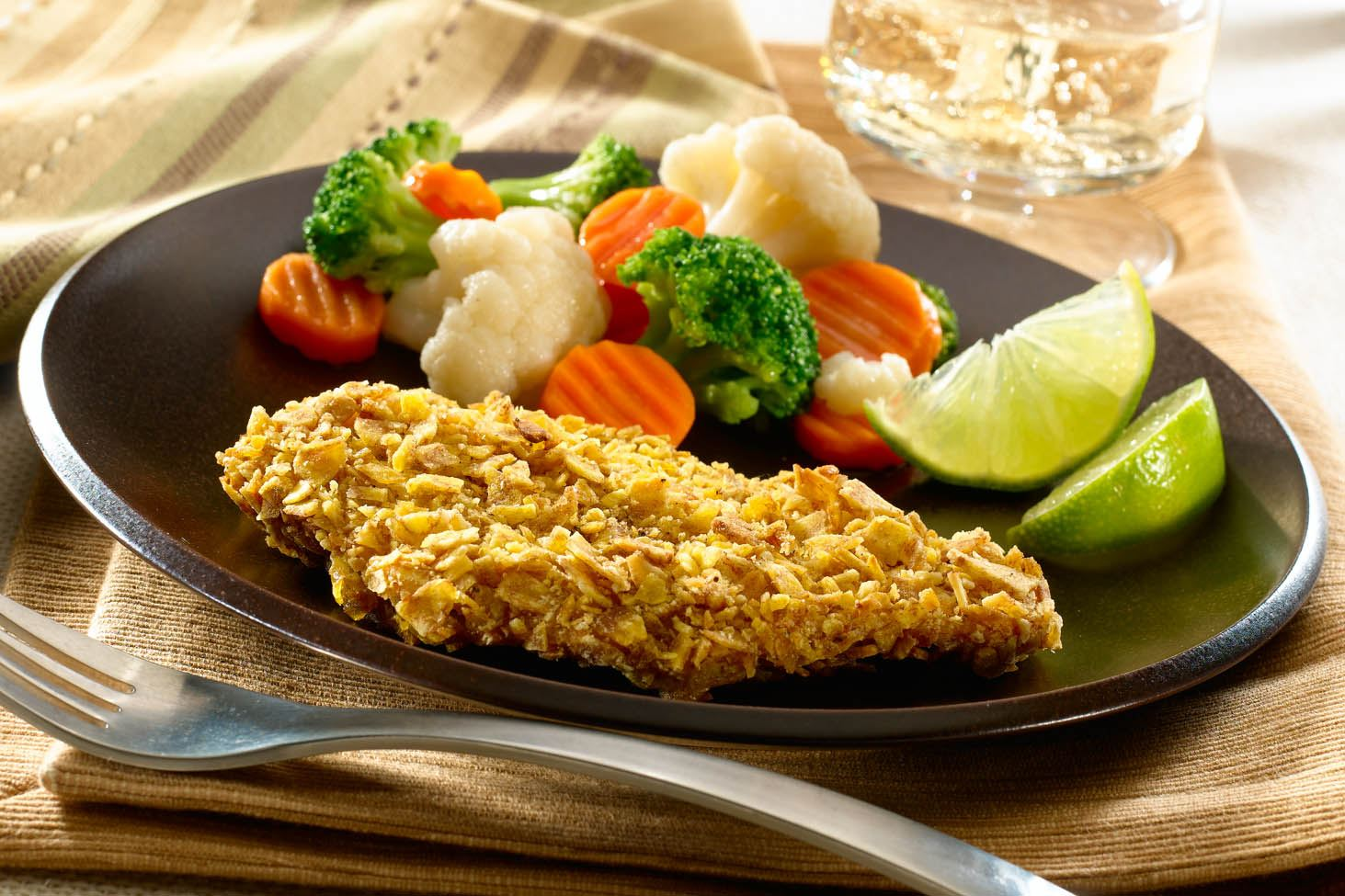 Crunchy Plantain-Crusted Chicken