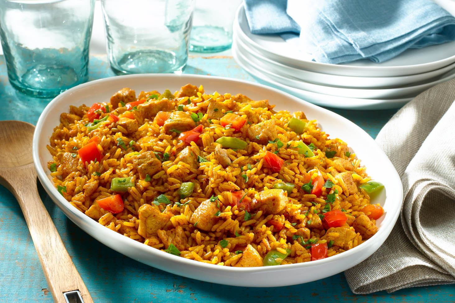Southwestern Chicken and Rice
