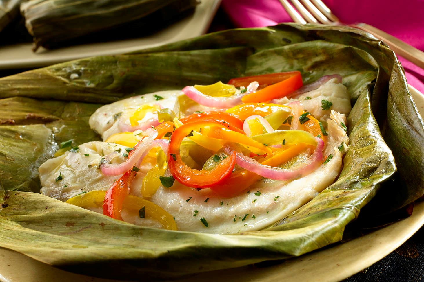 MyPlate Tilapia in Banana Leaf