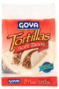 Soft Tacos - Flour Tortillas