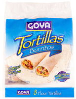 Burritos-Flour Tortillas