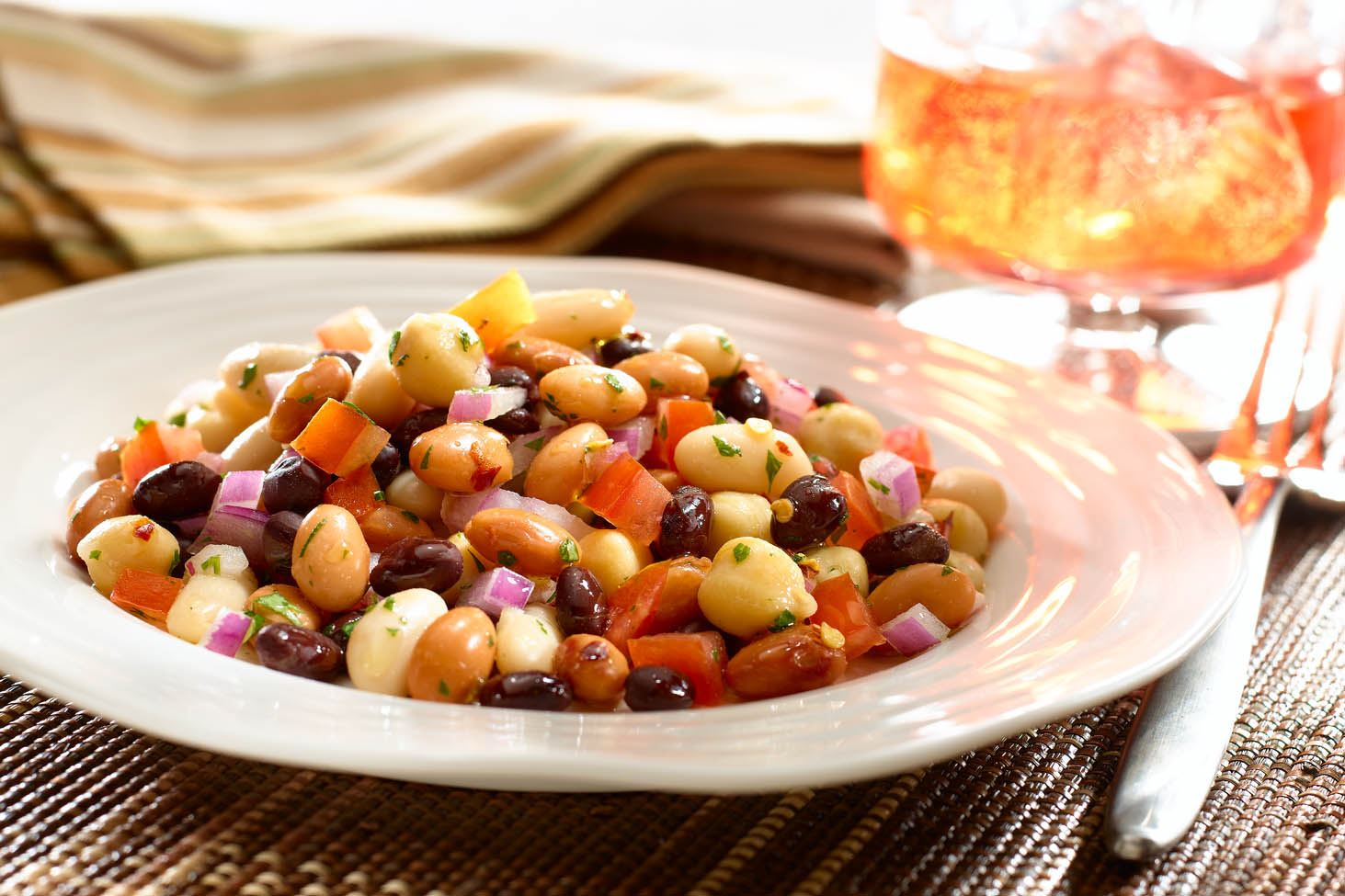 Tangy Four Bean Salad