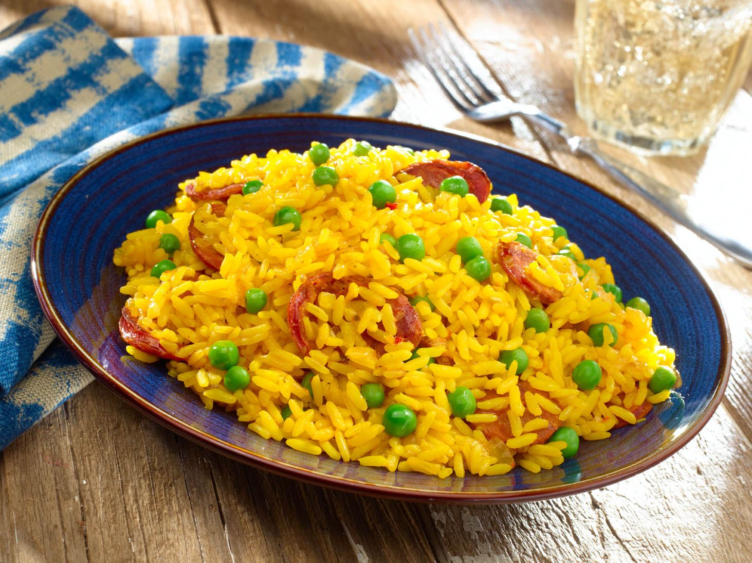Yellow Rice with Chorizo