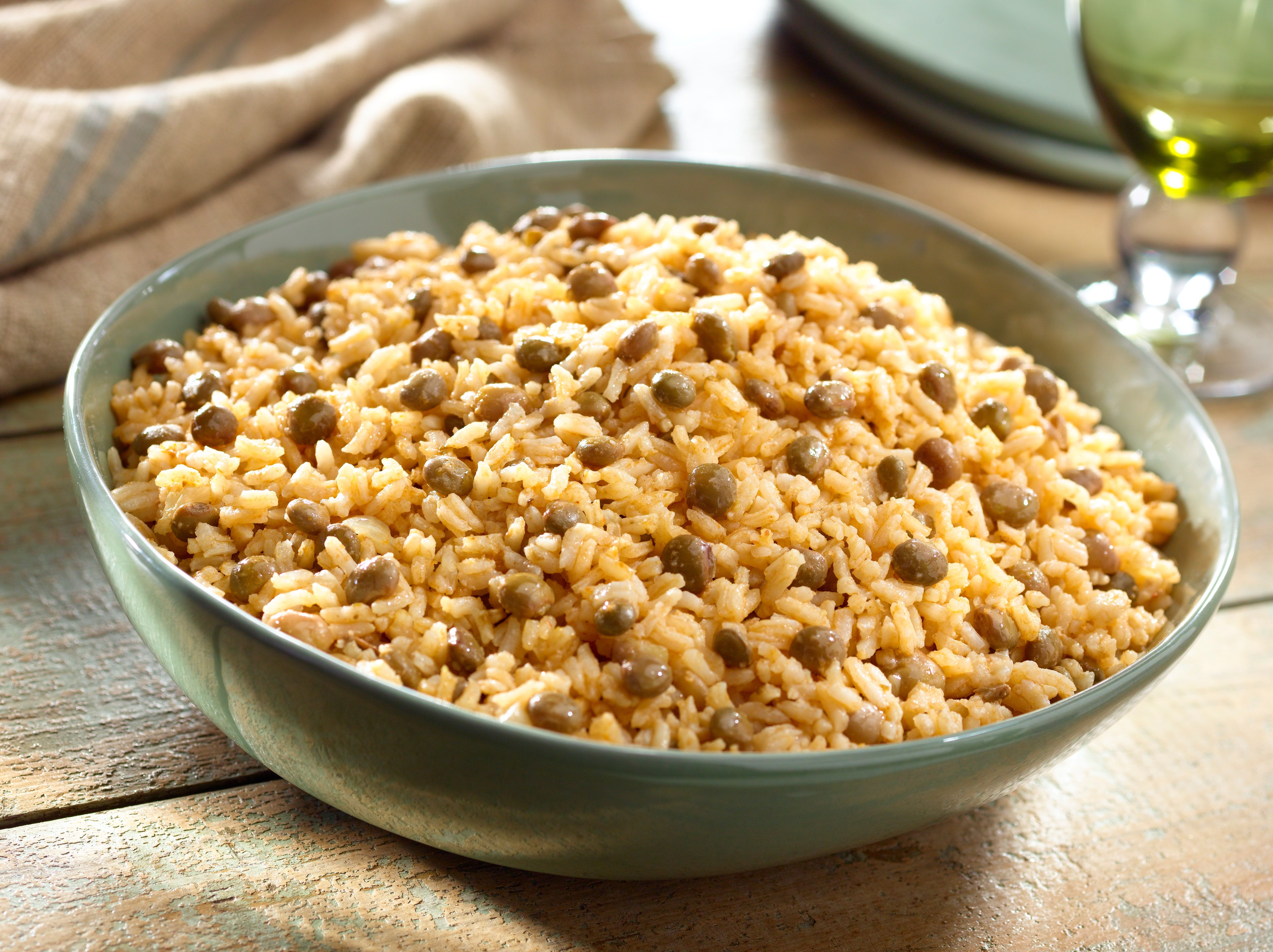 Rice with pigeon peas and coconut forumfinder Images
