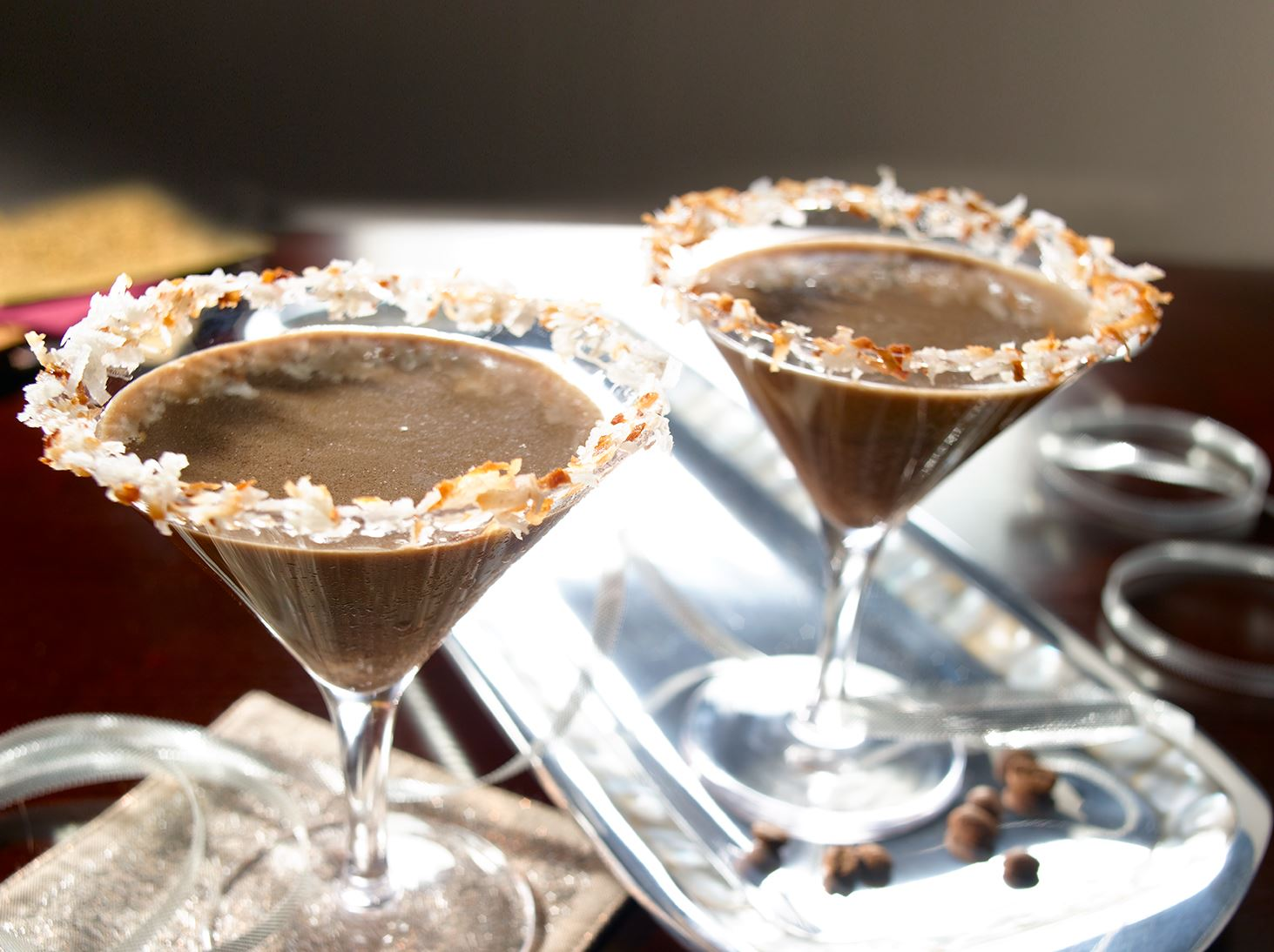 Martini de Coco y Chocolate