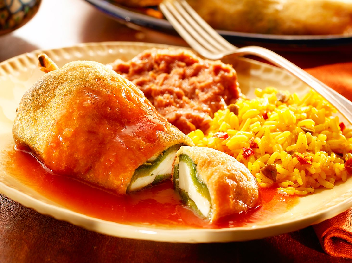Image result for chiles rellenos