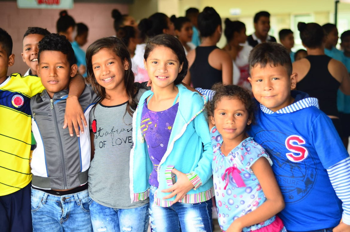 GOYA FOODS AND MAESTRO CARES CELEBRATE ORPHANANGE AND SCHOOL OPENING IN BARRANQUILLA, COLOMBIA