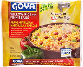 Yellow Rice with Pink Beans
