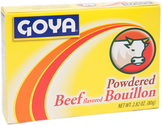 Powdered Beef Flavored Bouillon