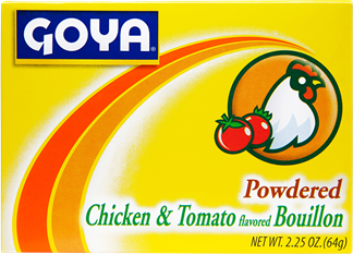 Powdered Chicken and Tomato Bouillon
