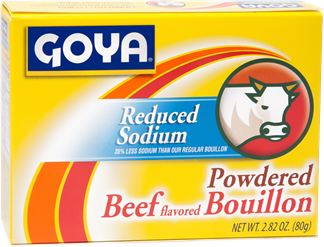 Reduced Sodium Powdered Beef Flavored Bouillon