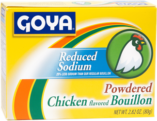 Reduced Sodium Powdered Chicken Flavored Bouillon