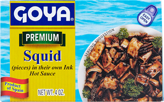 Squid in their Own Ink - Hot Sauce