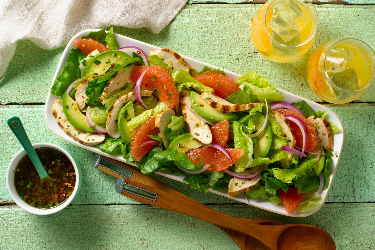 MyPlate Avocado and Grapefruit Salad