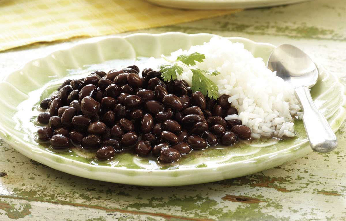 Rice with Black Beans