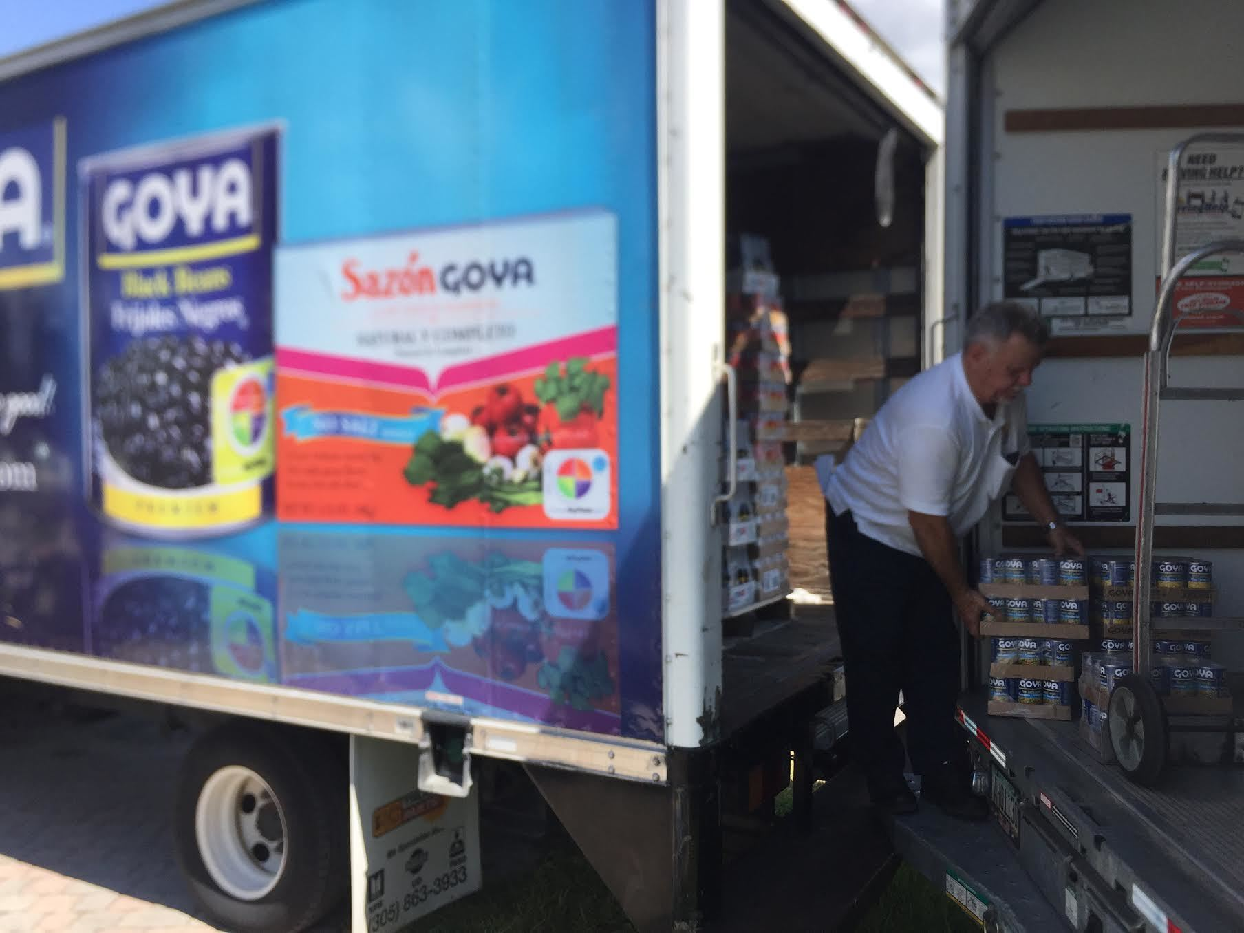 GOYA FOODS OF FLORIDA RESPONDS TO FLORIDA'S NEEDS IN THE AFTERMATH OF HURRICANE IRMA