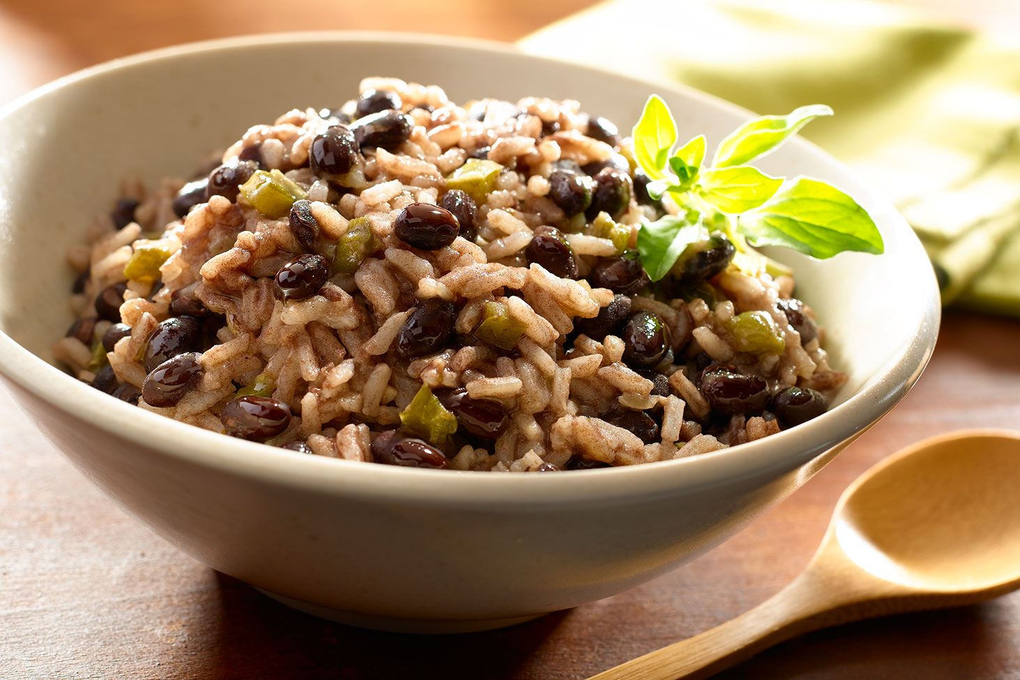 Moros y Cristianos - Black Beans and Rice