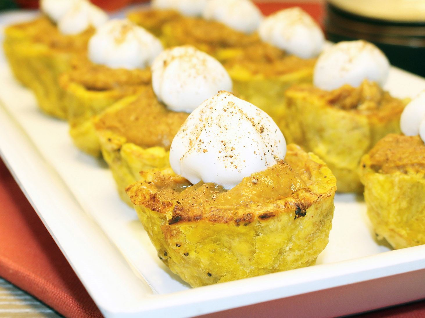 MyPlate Pumpkin Pudding Plantain Cups