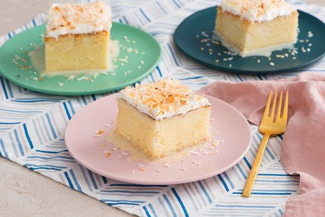 Coconut Tres Leches Cake Recipes Goya Foods