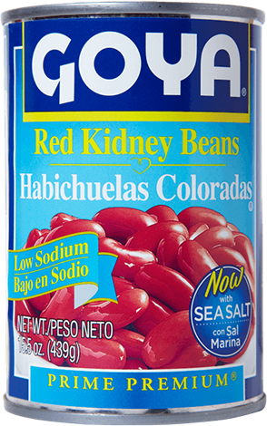 Low Sodium Red Kidney Beans Low Sodium Beans Goya Foods