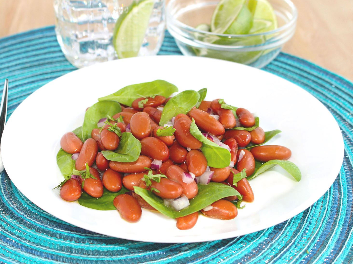 MyPlate Caribbean Red Bean Salad