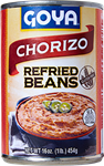 Refried Pinto Beans with Chorizo