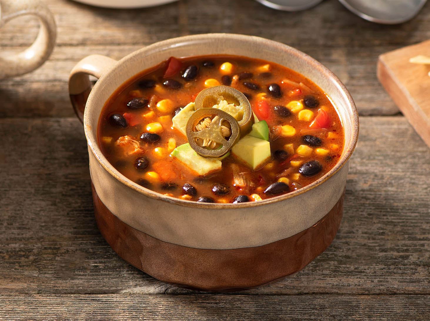 Mexican Chicken Chili With Black Beans Recipes Goya Foods