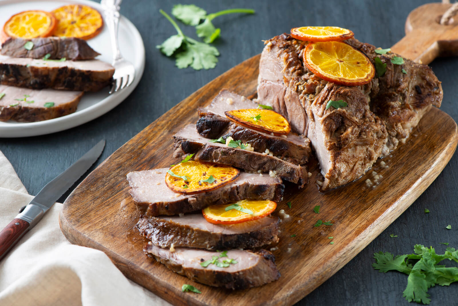 Easy Mojo Pork Shoulder Roast