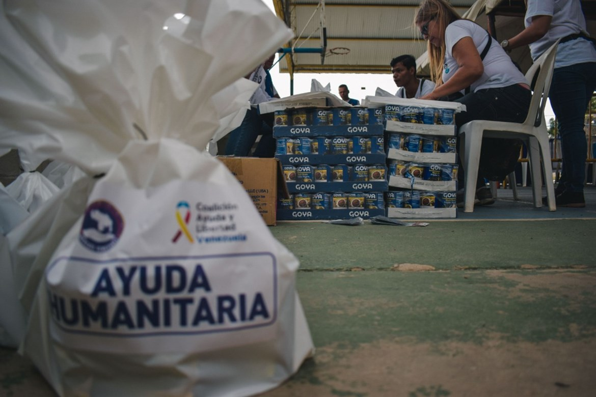 GOYA DONATES 180,000 POUNDS OF FOOD  TO THE PEOPLE OF VENEZUELA