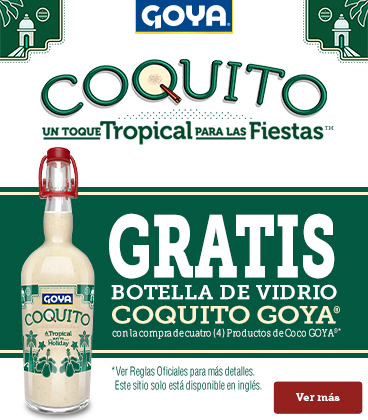 Coquito Bottle Promotion